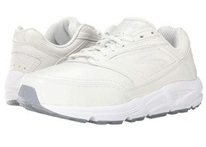 Brooks Addiction Walkers white size 10